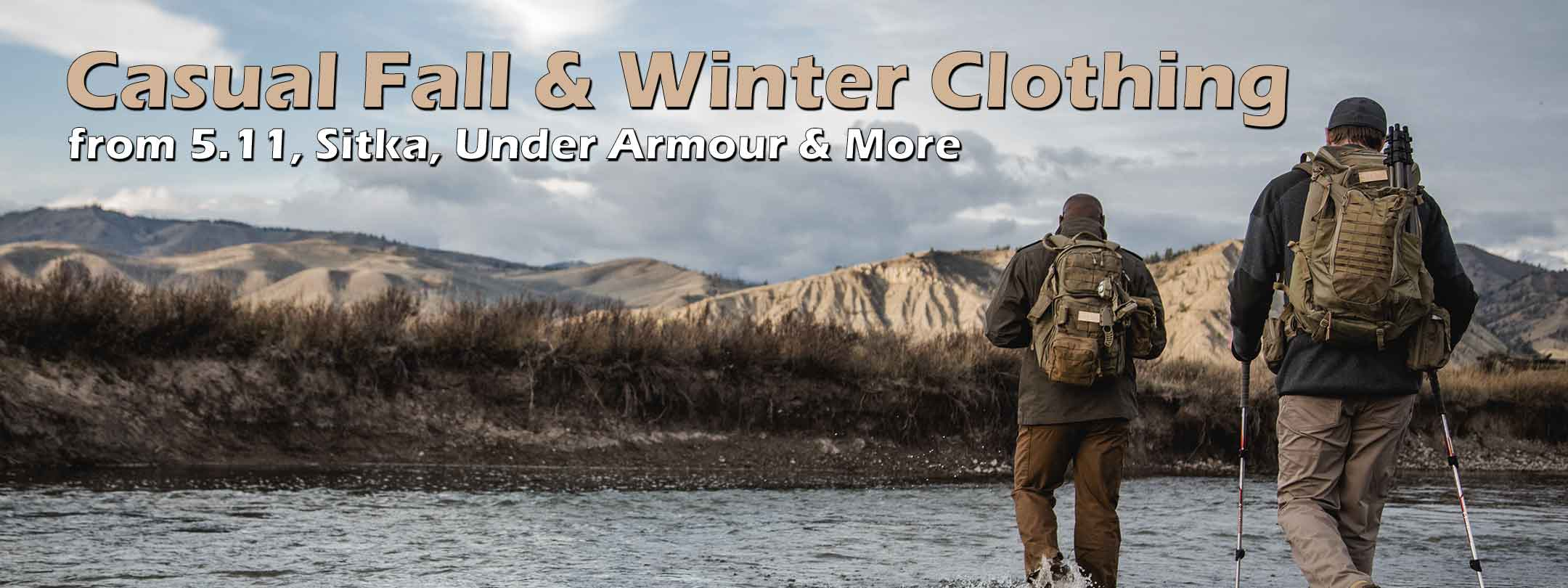 Fall & Winter Casual Clothing