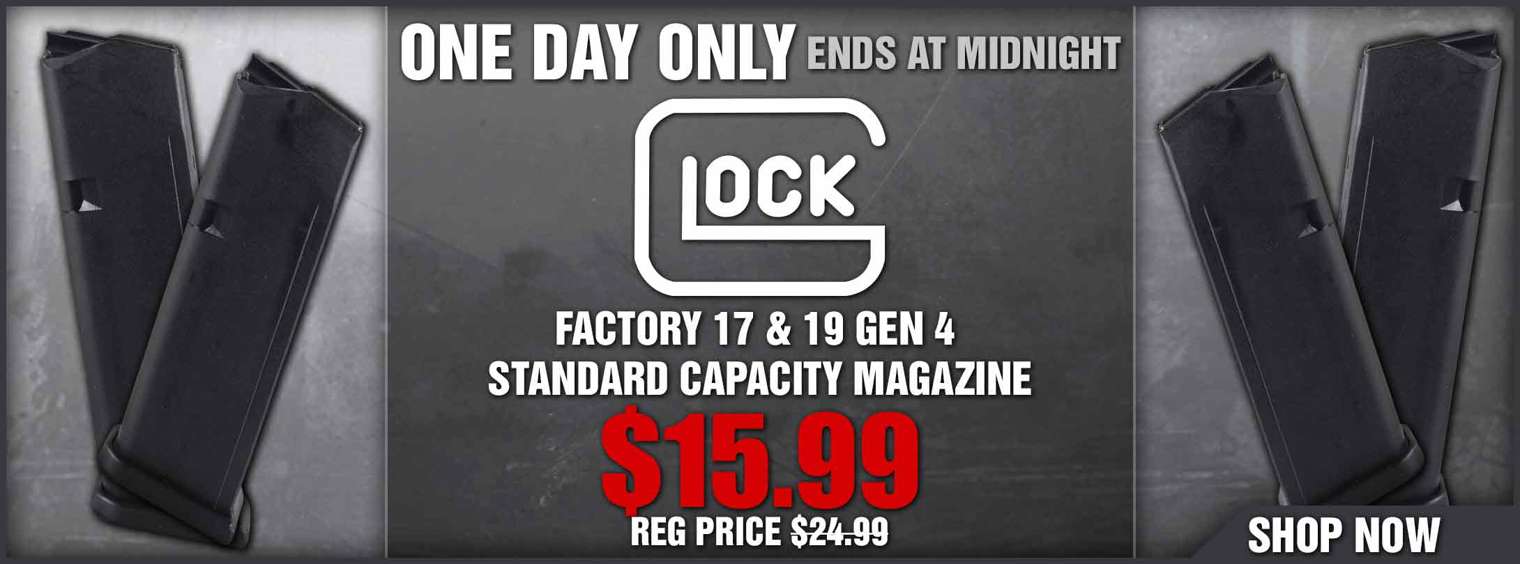 Save Over 35% on Glock 17 & 19 Mags!