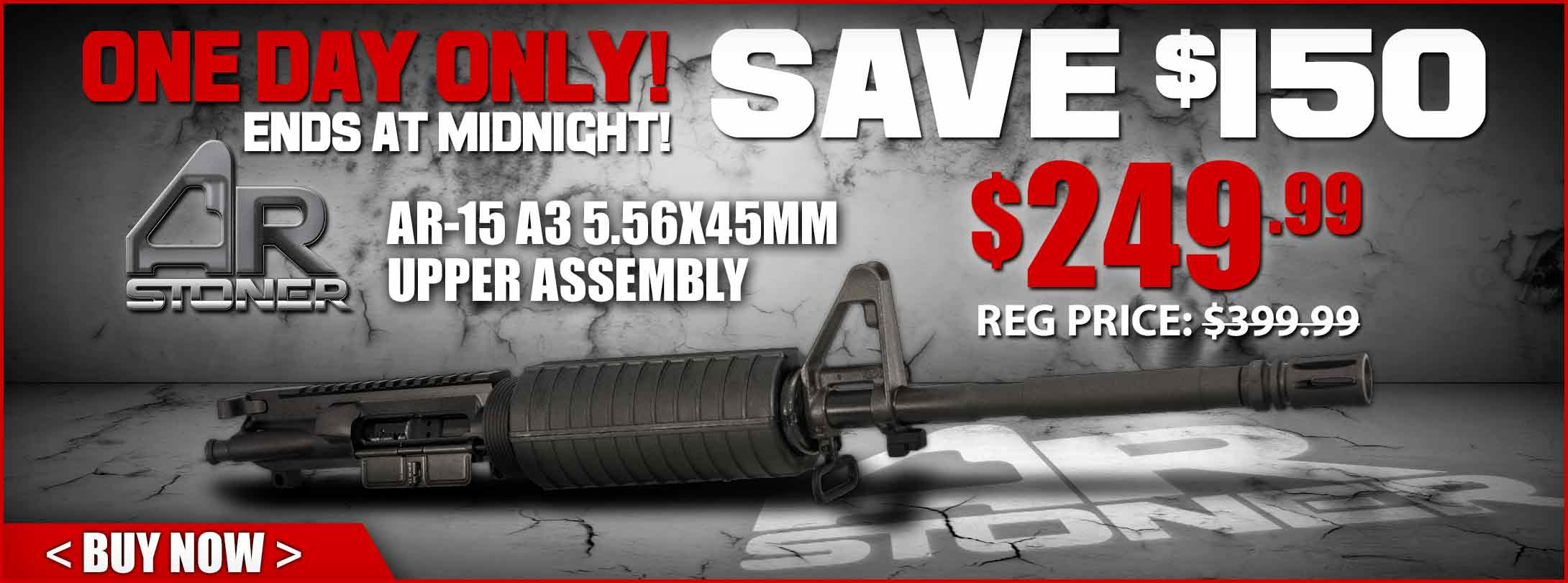 $150 Off AR-Stoner Upper Assembly