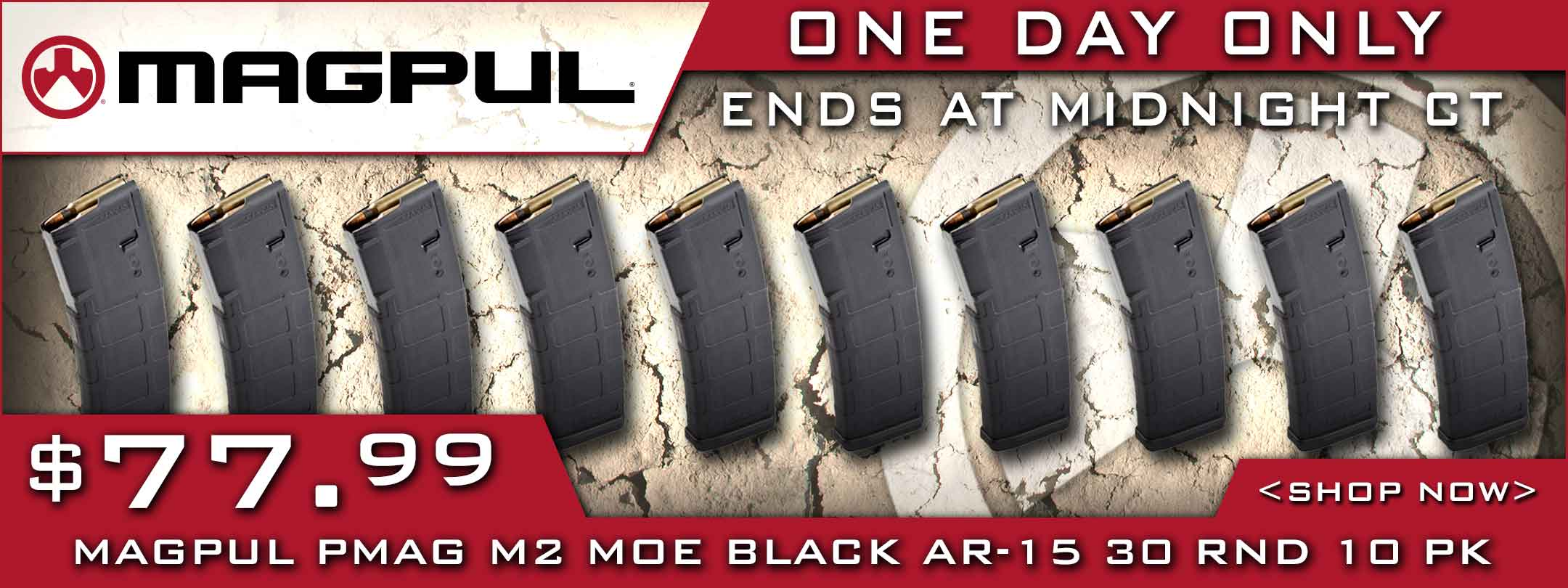 Save on Magpul 10 Pack