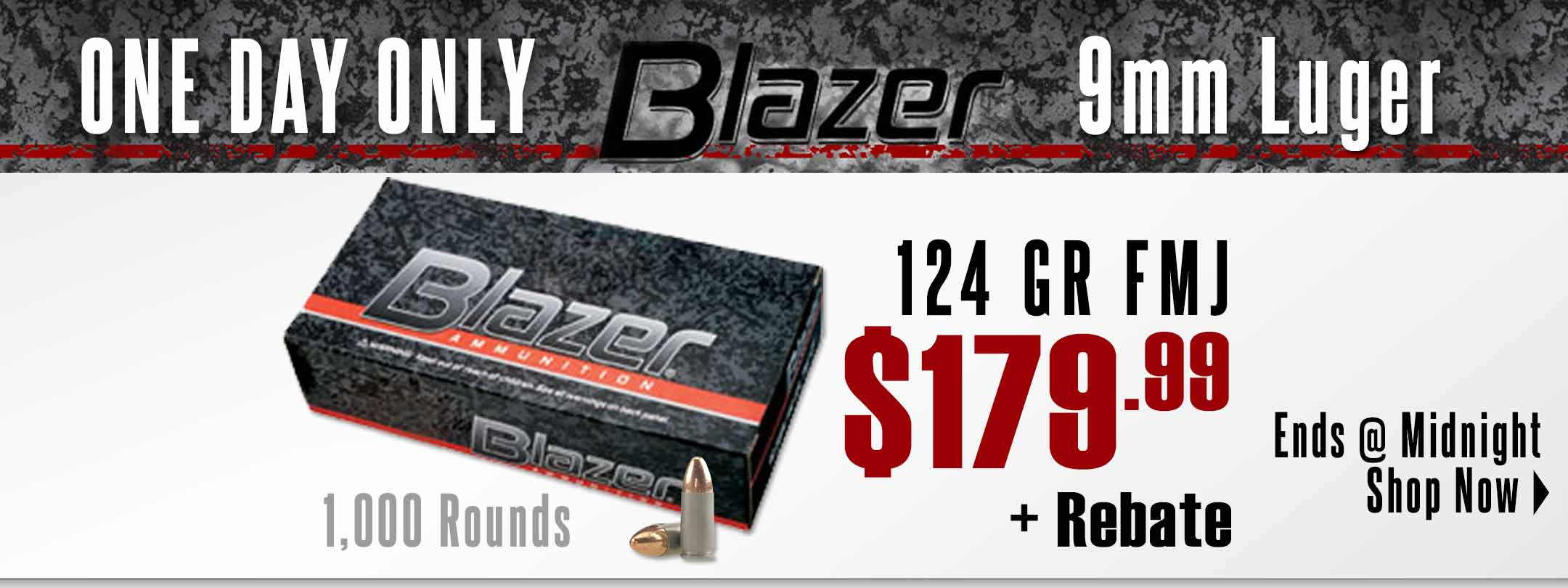 Save on Blazer 9mm!