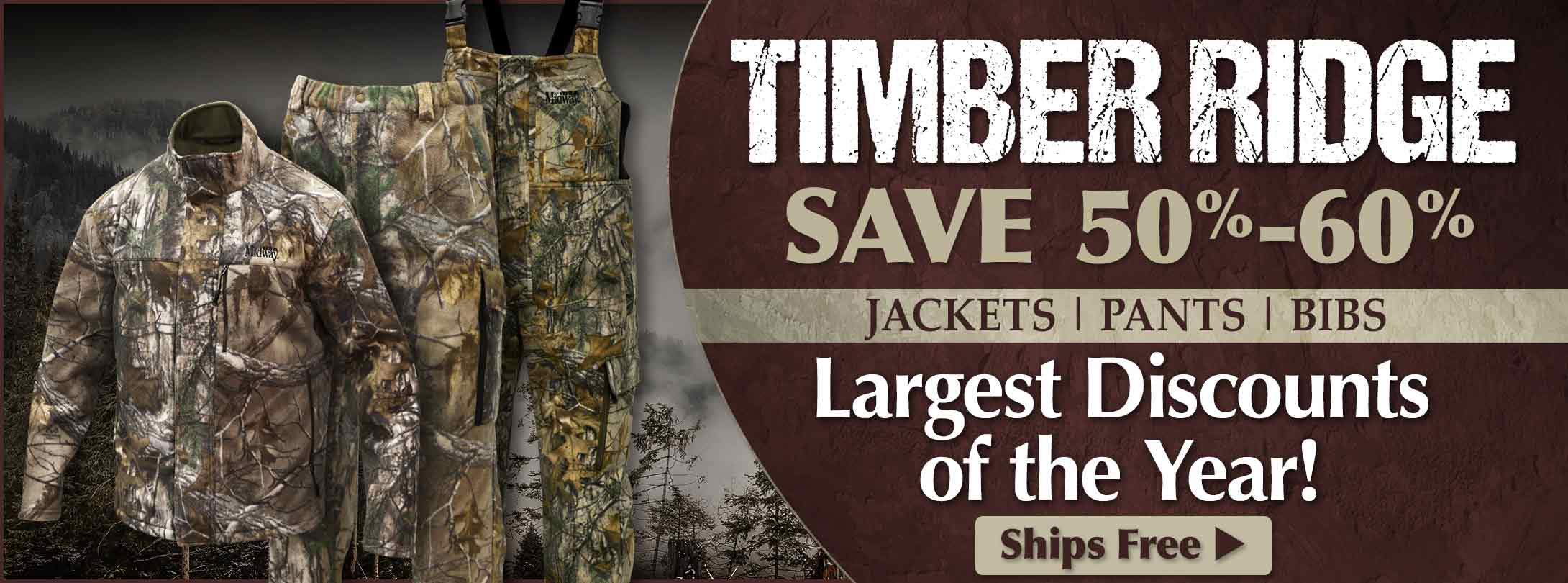 Save on Timber Ridge Clothing