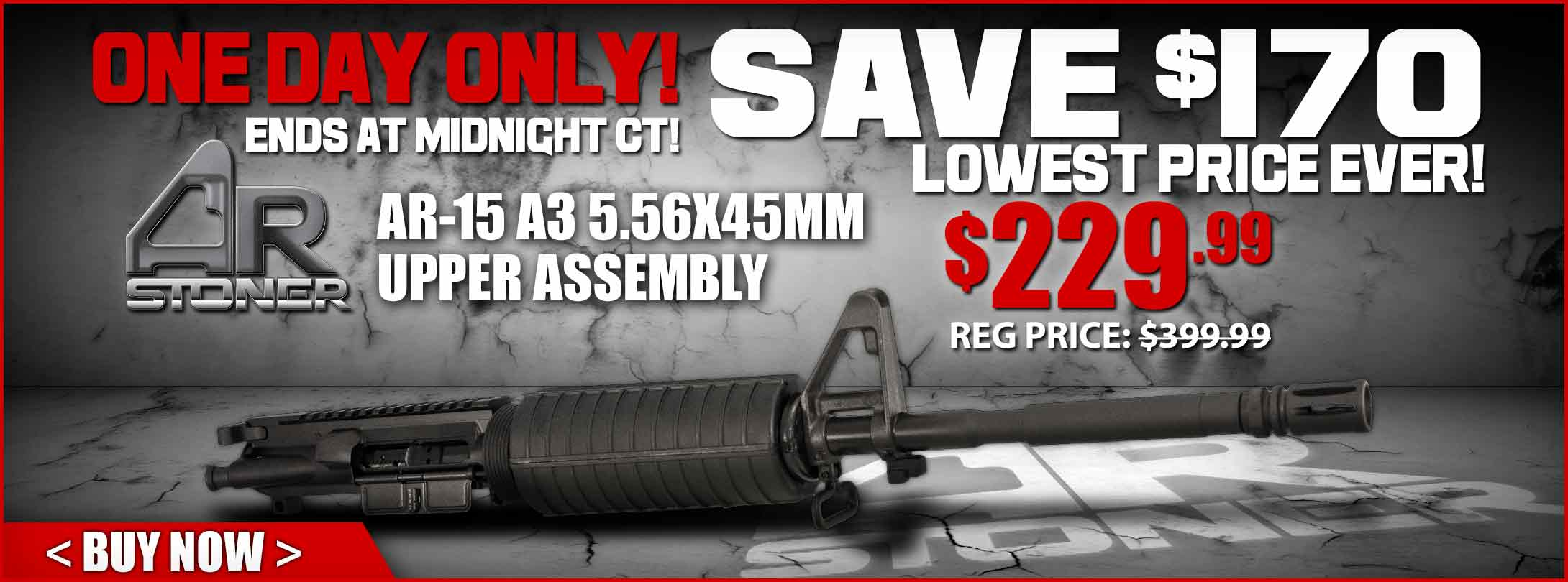 Lowest Price Ever! AR-Stoner Upper Assembly!