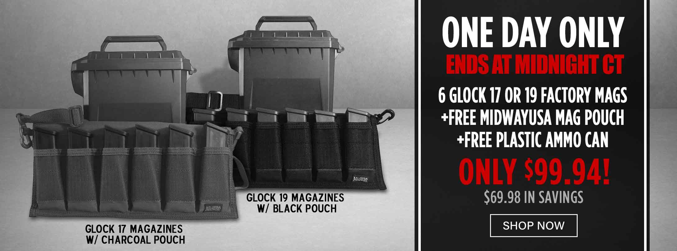Special Combo Deal with Glock Mags