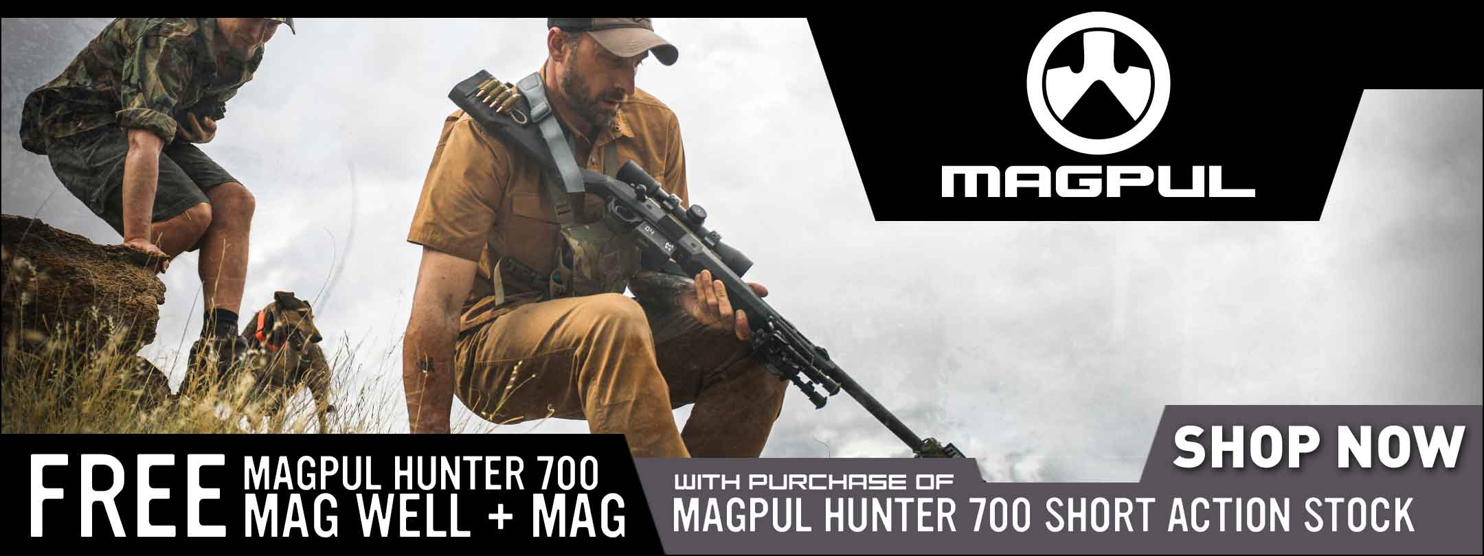 Free Magwell w/ Magpul Hunter 700 Stock Purchase