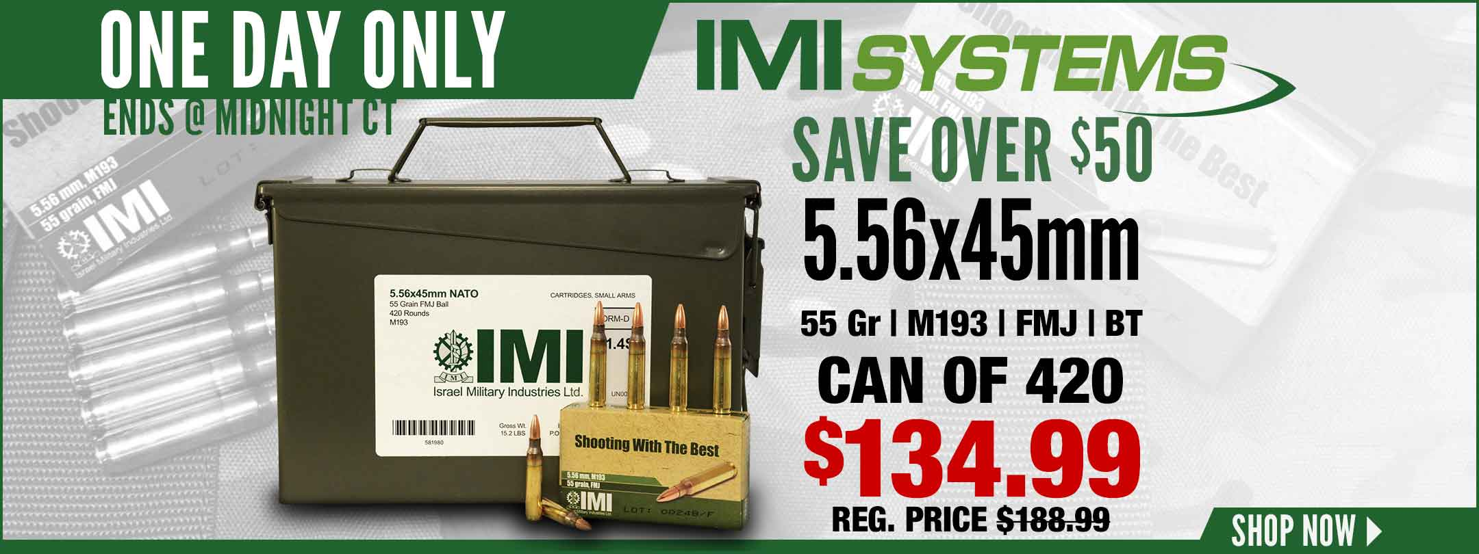 Save on IMI 5.56 M193