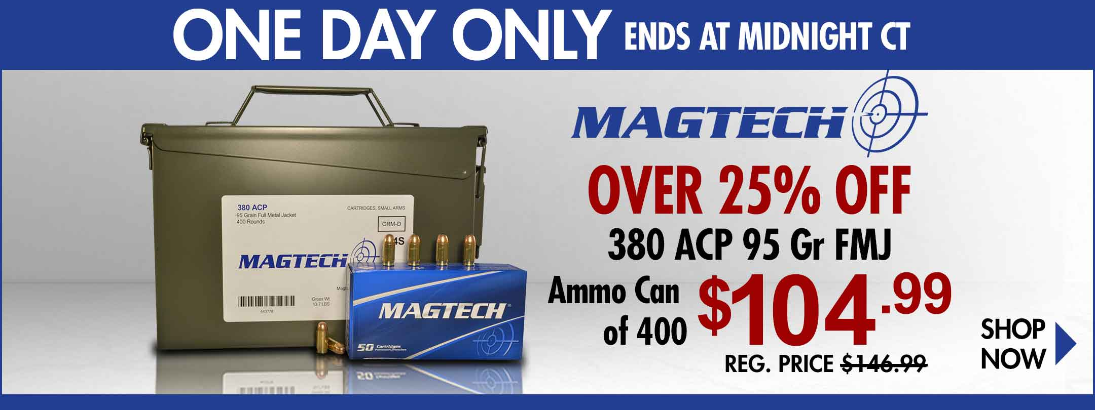 Save on Magtech 380 Ammo!