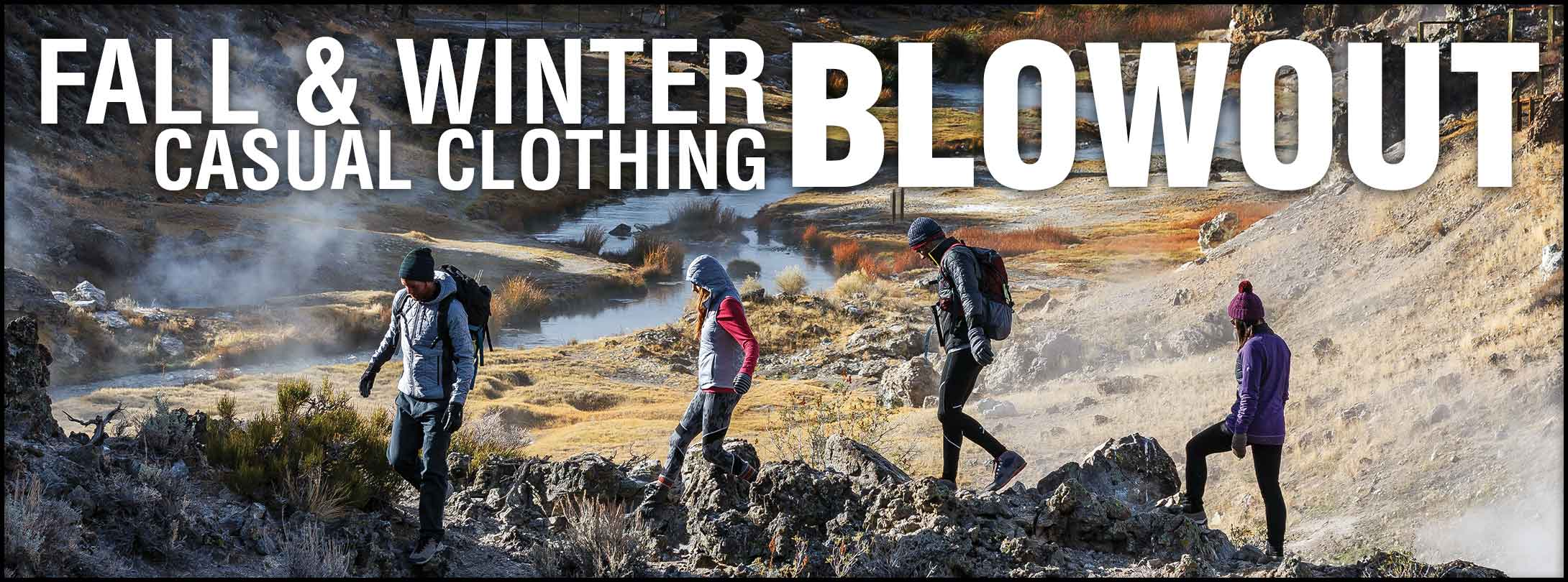 Fall & Winter Casual Clothing Sale!