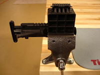 AR-15 Action Block and Vise
