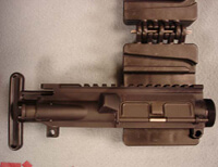 AR-15 Upper Receiver and Action Block