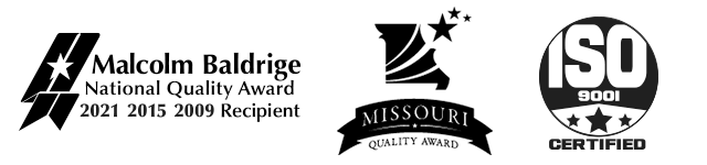 MidwayUSA is an ISO 9001:2008 Certified business, and the proud recipient of the Malcolm Baldrige National Quality Award in 2009 and the Missouri Quality Award in 2008.