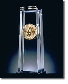 Malcolm Baldrige National Quality Award Trophy
