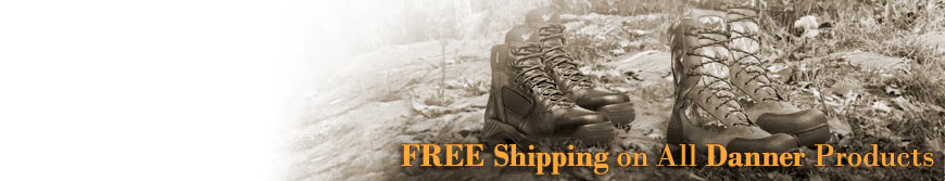 Free Shipping on Danner Boots