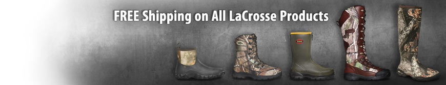 Free Shipping on LaCrosse Boots