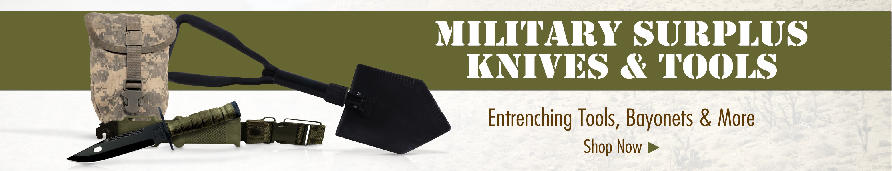 Military Surplus Knives & Tools