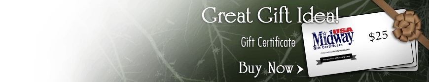 MidwayUSA Gift Certificate - Great Gift Idea