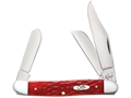 Product detail of Case Stockman Folding Knife 3-Blade Stainless Steel Blades Bone Handle