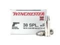 Product detail of Winchester Super-X Ammunition 38 Special +P 158 Grain Lead Hollow Point Semi-Wadcutter