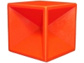 Product detail of Just Shoot Me Products Pistol Training Cube Reactive Target Ballistic Polymer Orange