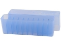 Product detail of Frankford Arsenal Slip-Top Ammo Box #209 22-250 Remington, 243 Winchester, 308 Winchester 20-Round Plastic Blue Box of 10