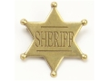 Product detail of Collector's Armoury Replica Old West Antique Sheriff Badge Brass
