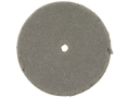 "Product detail of Cratex Abrasive Wheel Flat Edge 1"" Diameter 3/16"" Thick 1/16"" Arbor Hole Extra Fine Bag of 20"