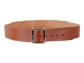 "Product detail of Hunter Cartridge Belt 2"" 45 Caliber 25 Loops Leather Brown XL"
