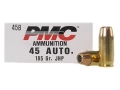 Thumbnail Image: Product detail of PMC Bronze Ammunition 45 ACP 185 Grain Jacketed H...