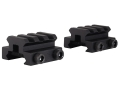 "Product detail of Remington Picatinny-Style Mini Riser Mount 1-1/3"" Length Aluminum Black Package of 2"