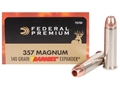 Product detail of Federal Premium Vital-Shok Ammunition 357 Magnum 140 Grain Barnes XPB Hollow Point Lead-Free Box of 20