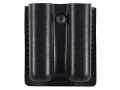 Product detail of Safariland 79 Slimline Open-Top Double Magazine Pouch Springfield XD 9mm Laminate Black