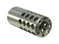 "Product detail of Vais Muzzle Brake 7/8"" 458 Caliber 5/8""-32 Thread .875"" Outside Diameter x 2"" Length"