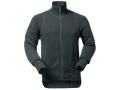Product detail of Wool Power Men's Full Zip Long Underwear Shirt Long Sleeve 600 Gram Insulated Wool Black Medium 39-42