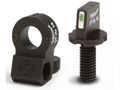Product detail of XS 24/7 Tactical Night Sight Set AR-15 Steel Matte Tritium Bar Front, Tritium Ghost Ring Rear