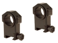 "Product detail of Leatherwood Hi-Lux 30mm Max-Tac Tactical Picatinny-Style Rings with 1"" Inserts Matte"