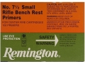 Product detail of Remington Small Rifle Bench Rest Primers #7-1/2