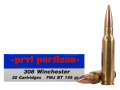 Product detail of Prvi Partizan Ammunition 308 Winchester 145 Grain Full Metal Jacket