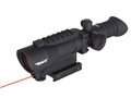 Product detail of BSA Red Dot Sight 1x 30mm 5 MOA Dot with Picatinny-Style Mount, Laser, and Light Matte