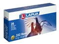 Product detail of Lapua Ammunition 222 Remington 55 Grain Full Metal Jacket Box of 20