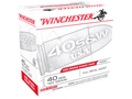 Product detail of Winchester USA Ammunition 40 S&W 165 Grain Full Metal Jacket Flat Nose