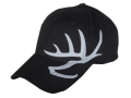 Product detail of Heartland Bowhunter Flex Fit Antlers Cap Cotton Black