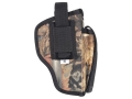 Product detail of Soft Armor Compak Off Duty Belt Holster Ambidextrous Glock 9mm Luger, 40 S&W Nylon Camo