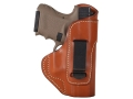 Product detail of Blackhawk Inside the Waistband Holster Right Hand Glock 17, 19, 22, 23, 31, 32, 36 Leather Brown
