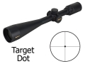 Product detail of Nikon Monarch Rifle Scope 6-24x 50mm Side Focus Target Dot Reticle Matte