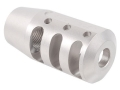"Product detail of PRI Muzzle Brake Quiet Control 5/8""-24 Thread AR-10, LR-308 Stainless Steel"