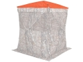 Product detail of Ameristep Safety Ground Blind Cap fits Hub Blinds Polyester Blaze Orange