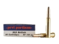 Product detail of Prvi Partizan Ammunition 303 British 180 Grain Soft Point Box of 20