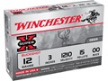 "Product detail of Winchester Super-X Magnum Ammunition 12 Gauge 3"" Buffered 00 Buckshot 15 Pellets"