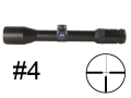 Product detail of Zeiss Diavari VM/V Rifle Scope 30mm Tube 2.5-10x 42mm First Focal #4 Reticle Matte