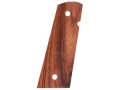 Product detail of Hogue Fancy Hardwood Grips 1911 Government, Commander with Extended Magazine Well Pau Ferro